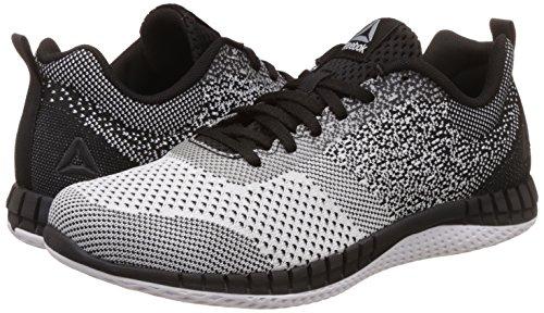 dd4521d2536f4 ... Reebok Men s Print Run Prime Ultk Black Wht Vital Blue Pwt Running Shoes  ...