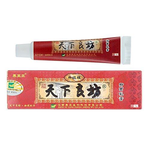 Pawaca Natürlich Traditionell Chinesische Kräutermedizin Sahne Antibakteriell Salbe Zum Psoriasis Urtikaria Dermatitis Ekzem und Vitiligo...