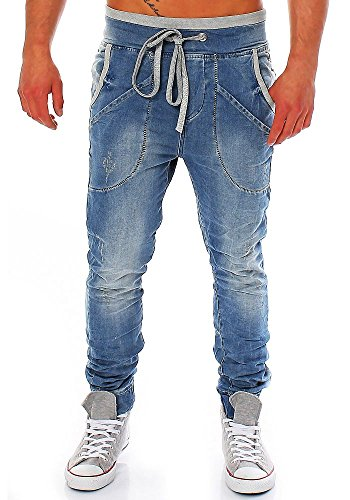 Red Bridge Herren Jeans / Straight Fit Jeans Performence Blau