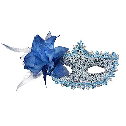 eder Maskerade Maske Halloween Cosplay Dancing Party blau ()