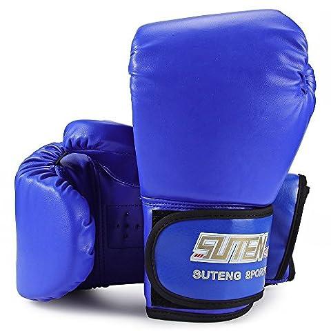 Suten Gants de boxe Sac Gants Muay Thai perforation Sparring MMA kickboxing d