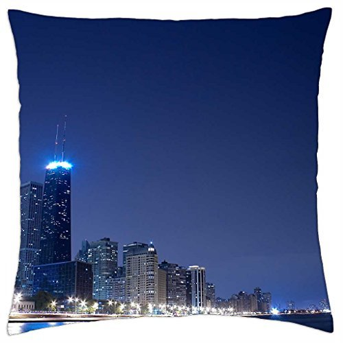 sears-tower-night-throw-pillow-cover-case-16-x-16