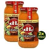 Devos Lemmens D & L Andalouse Sauce 2x 300ml (600ml) - andalusische, pikante Soße