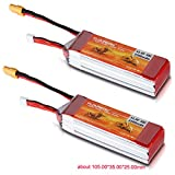 Best DJI Of 3s - FLOUREON®11.1V 2200mAh 3S 25C Lipo RC Battery Rechargeable Review