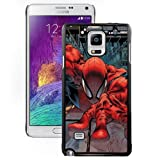 New Personalized Custom Designed For Samsung Galaxy Note 4 N910A N910T N910P N910V N910R4 Phone Case For Cartoon Spiderman Climbing Building Phone Case Cover