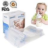 Muttermilchbeutel 30 Stück a 200ml, Muttermilch Aufbewahrungsbeutel, Muttermilch-Gefrierbeutel-BPA-frei