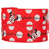 2m x 22mm CUTE RED MINNIE MOUSE GROSGRAIN FOR CAKE