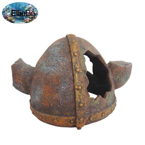 ellie-bo-viking-helmet-handpainted-polyresin-aquarium-ornament-15-x-11-x-8-cm