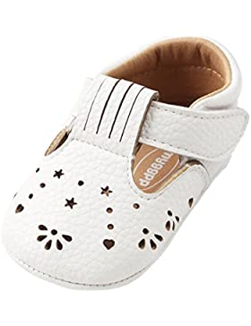 Fossen Zapatos Bebe Recien Nacido Niña Primeros Pasos Antideslizante Suela Goma Zapatos de Princesa Estilo