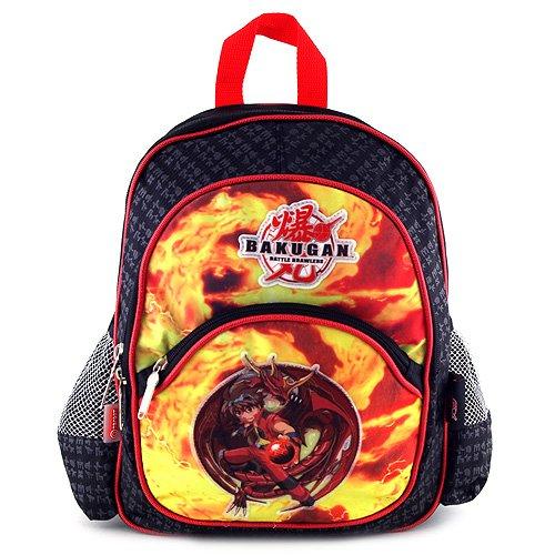 Bakugan Sac à Dos Enfants Petit 35 cm Multicolore (Noir/Rouge)