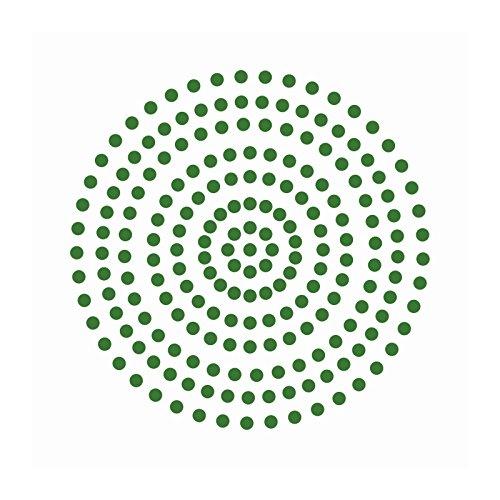 Couture Creations Premium selbstklebend Perlen, smaragd grün, 3mm