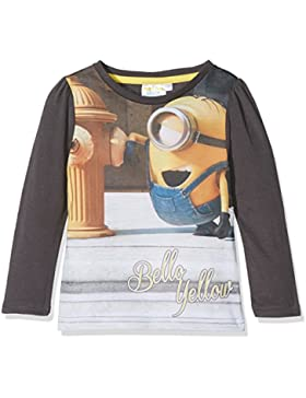 les minions Minion Bello Yellow, Camiseta Para Niños