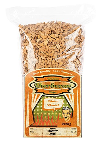 Axtschlag Räucherchips, Wood Smoking Chips Erle – Alder, Holz, 1 kg
