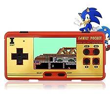 2,8 - zoll - klassiker fc tasche retro - videospiel - konsole handheld - spielkonsole gebaut - 638 spiele können den joysticks doppel - spieler