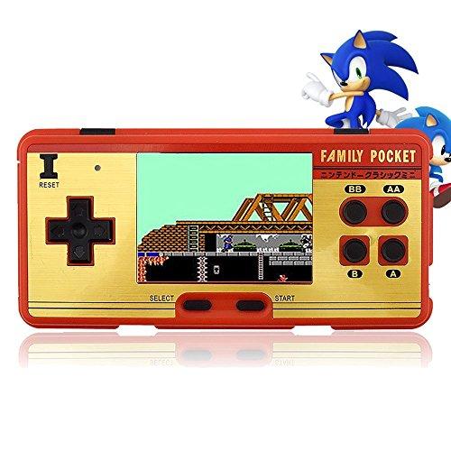 2,8 - zoll - klassiker fc tasche retro - videospiel - konsole handheld - spielkonsole gebaut - 638 spiele können den joysticks doppel - spieler (Handheld-spiel-player)