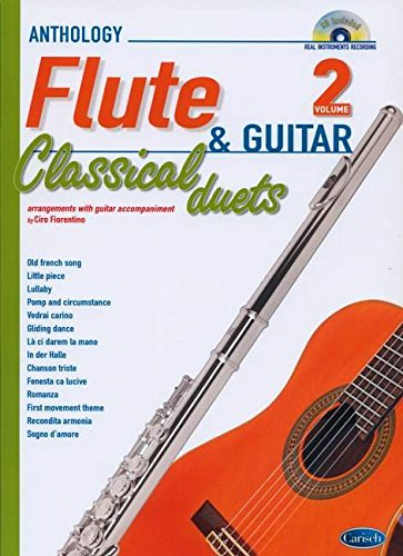 CLASSICAL DUETS FOR FLUTE AND GUITAR VOL. 2: Anthology Duets