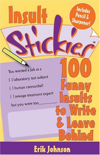 insult-stickies-100-funny-insults-to-write-leave-behind-with-pencil-sharpener-stickies-lark-books