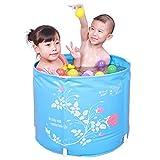 CN Badewanne frei aufblasbare Faltbare Badewanne Badewanne Wanne Verdickung Kunststoff Baby Badewanne Kinder Badewanne