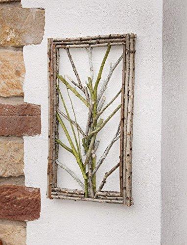 Blume des Lebens aus Birkenholz Stellen verschiede Durchmesser Wandschmuck Holz
