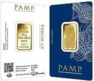 Suisse Pamp 24K (999.9) 20 gram gold bar