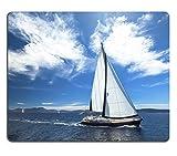 Die besten Liili Schreibtische - Mousepads Segelboot teilnehmen in Sailing Regatta Luxus Yachten Bewertungen