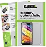 dipos I 6X Schutzfolie matt passend für ZTE Nubia N1 Lite Folie Displayschutzfolie