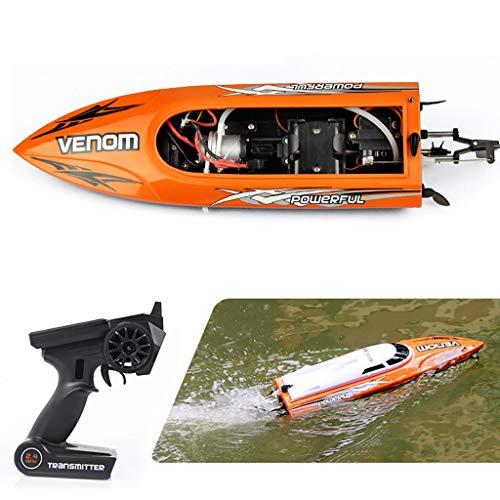 Webla Fernbedienung Spielzeug-Hochgeschwindigkeitsfernbedienung UDI00 Boot wasserdichtes Wasserkühlsystem, ABS + Kunststoff (Lkw-fahrer Gps)