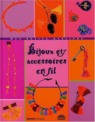 Bijoux et accessoires en fil par Laurence Wichegrod