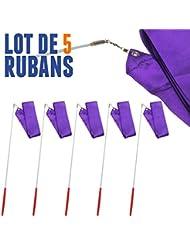 Lote de 5 g de cinta de 4 m, color violeta