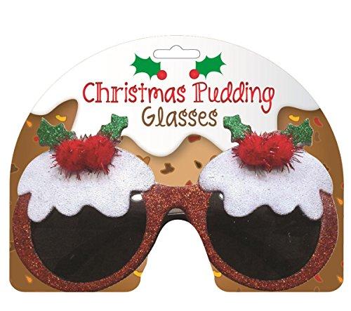 Diabolical Gift People - Lunettes de Noël Motif Pudding