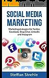 Social Media Marketing: Marketingstrategien für Twitter, Facebook, Snap Chat, LinkedIn und Instagram (Social Media, Social Media Marketing, Internetmarketing)