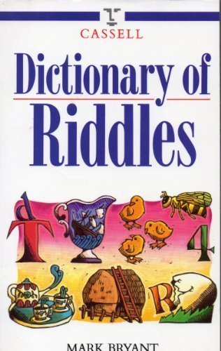 Dictionary of Riddles by Mark Bryant (1995-03-01)