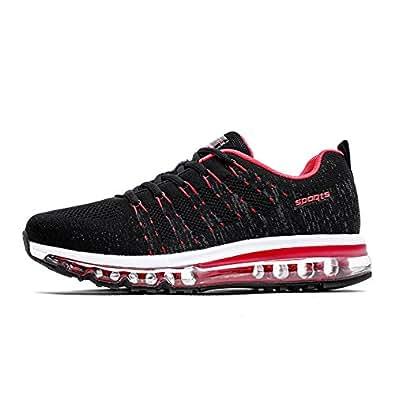 cc3073d208c0 Fexkean Chaussures de Sport Chaussures Homme Femme Running Respirant ...