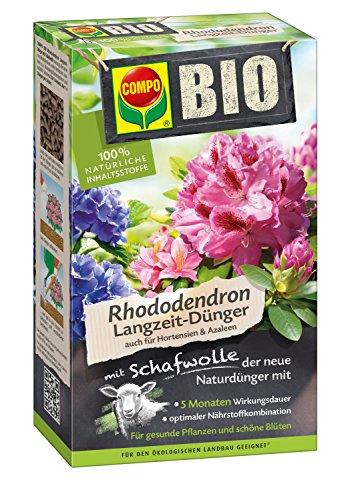 Compo Bio Engrais pour rhododendron de longue durée avec laine de mouton 2 kg