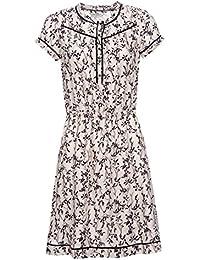 Vive Maria White Blossom Dress Kleid weiss Allover-Print