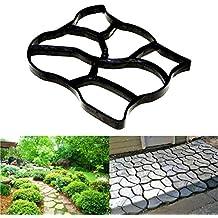 GXFC Moldes de hormigón para Jardines Irregulares, adoquines, para moldes de plástico para Bricolaje