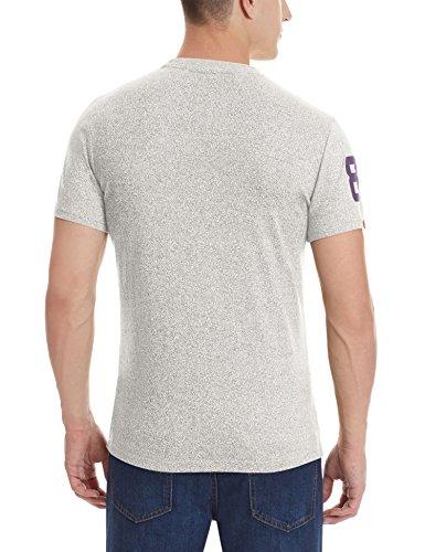 Superdry T-Shirt Men VINTAGE LOGO DUO Optic Grau