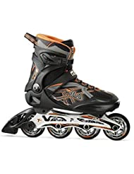 Fila Hombre Argon 84 Inline Skate, hombre, ARGON 84, negro / naranja, 13