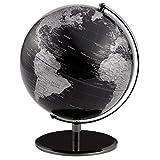 Emform - Seleco - Globus, Weltkugel - Titan - Schwarz - moderner Globus