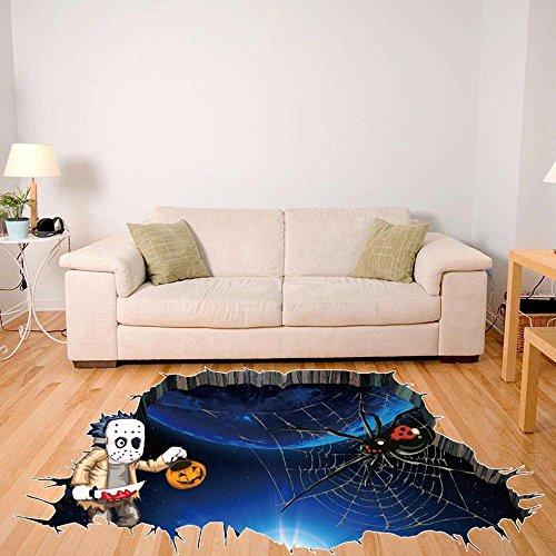 Wandtattoos, OVERMAL Abnehmbarer 3D glücklicher Halloween Haushalt-Raum Wand Fußboden Aufkleber Wand Dekor (Raum Halloween Dekor)