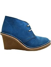 Zapatos azules Sidas para hombre