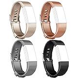 Tobfit Armband Für Fitbit Charge 2 Weiches TPU Ersetzbar Armbänder
