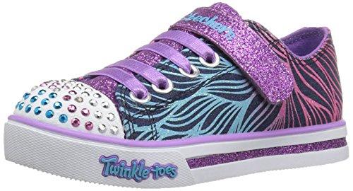 Skechers Mädchen Sparkle Glitz-Shiny Spirit Sneakers Mehrfarbig (DMLT)