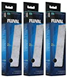 Fluval A492 Polyester- / Aktivkohle-Filtereinsatz für Fluval Innenfilter U4, 3 x 2 Stück