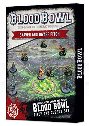 Blood Bowl: Campo Skaven y Dwarf