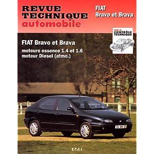Revue Technique Automobile, n° 585.2 : Fiat Bravo & Brava, moteur essence et moteur Diesel