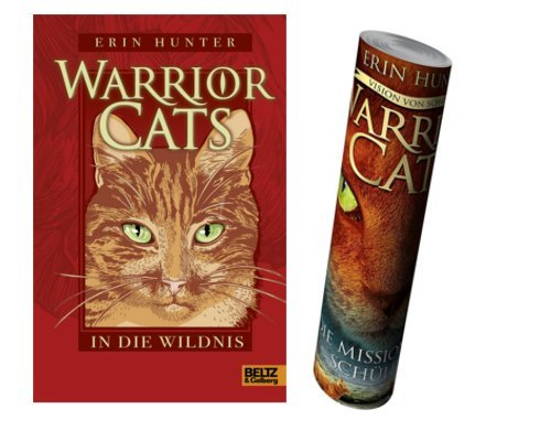Beltz & Gelberg Warrior Cats. In die Wildnis I, Band 1 + Warrior Cats Poster by Collectix