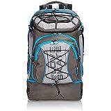 Powerslide Rucksack Pro Bag - Mochila de senderismo, color azul, talla 55 X 35 X 30