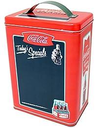 Preisvergleich für The Tin Box Company Der Dose Company 669207–12Coca Cola Blechdose Vorratsdose mit Tafel vorne Oberfläche