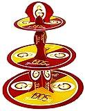 Galatasaray Istanbul - Party Geburtstag Cupcake Muffin Ständer 3 Etagen Kinder Dogum Günü Ultraslan GS 1905